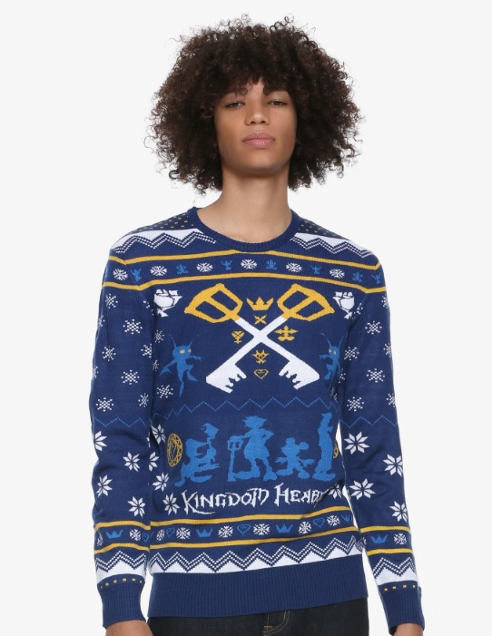 Kingdom Hearts Ugly Christmas Sweater Suit Up Geek Out