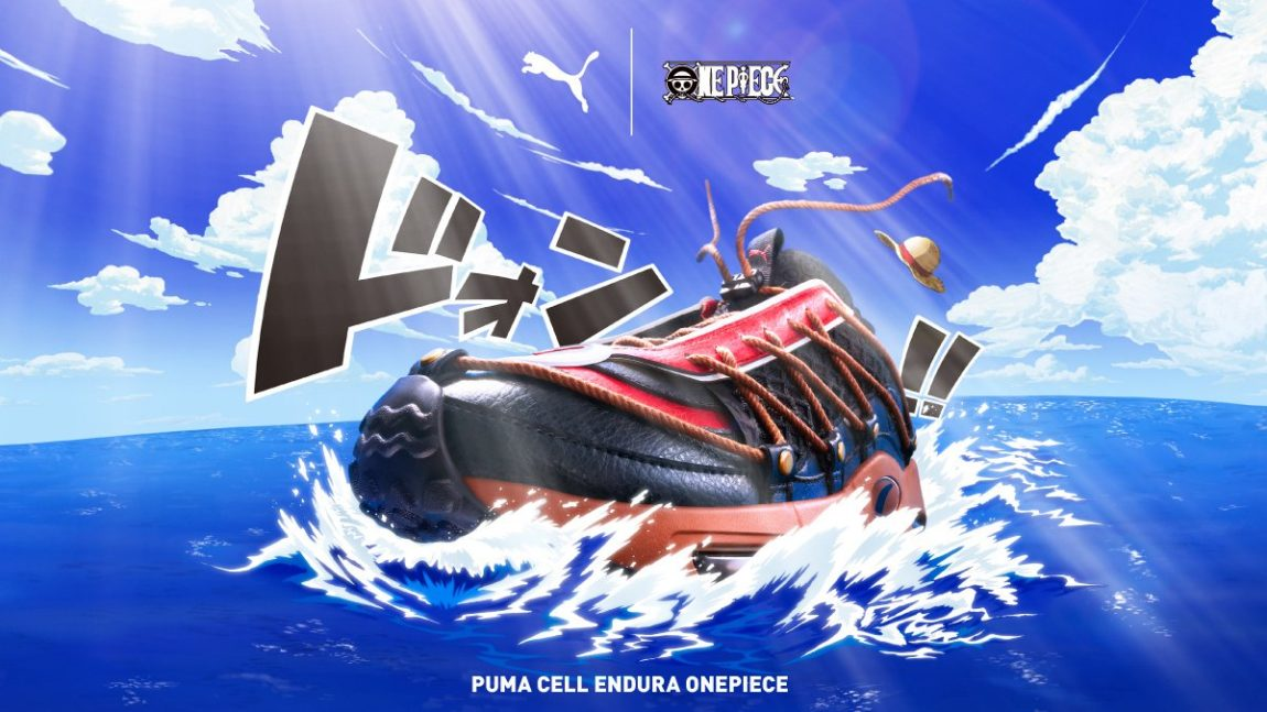 First Look at the 'One Piece' x Puma Sneakers – Suit Up
